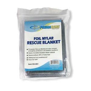 Primacare Emergency Foil Thermal Rescue Blanket